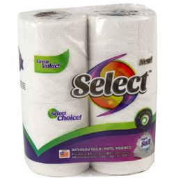 24 of Bathroom Tissue 4pk 150ct 2 Ply Select Poly Wrap