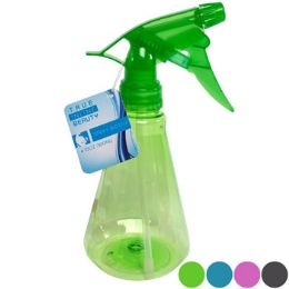 36 of Spray Bottle 10oz 4ast Colors 7.68inh Diamond Shaped Hba ht