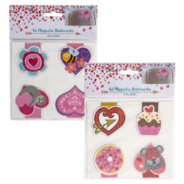 36 of Bookmark Magnetic 4pk 2in 2 Asst Combos/val Pb W/hdr Insrt