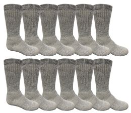 48 of Yacht & Smith Kids Merino Wool Thermal Winter Camping Boot Socks