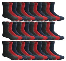 120 of Yacht & Smith Womens Wholesale Winter Thermal Crew Socks Size 9-11