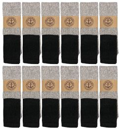 240 of Yacht & Smith Mens Cotton Thermal Tube Socks, Cold Weather Boot Sock Shoe Size 8-12