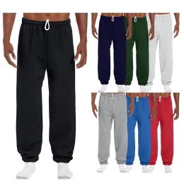 36 of Men's Gildan Sweatpants Assorted Sizes And Colors