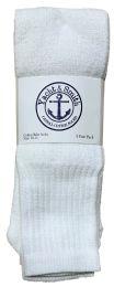84 of Yacht & Smith Men's White Cotton Terry Tube Socks,30 Inch Long Athletic Tube Socks, Size 10-13