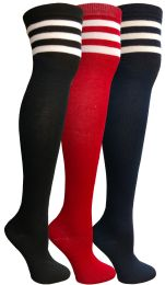 60 of Yacht & Smith Womens Over The Knee Referee Thigh High Boot Socks