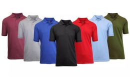 216 of Gildan Mens Assorted Color And Sizes Irregular Polo Golf Shirts