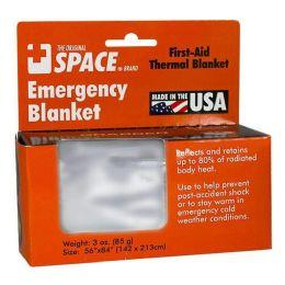 72 of Emergency Blanket - Space Brand Emergency Blanket 56 inch x 84 inch