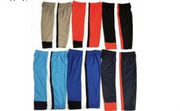 72 of Mens 21 Inch Mesh Athletic Basketball Jogging Shorts Assorted Sizes