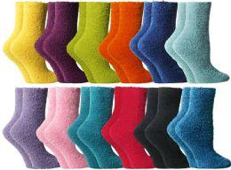 60 of Yacht & Smith Butter Soft Womens Cozy Fuzzy Socks, Sock Size 9-11