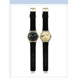 12 of 48mm Milano Expressions Silicon Band Watch - 46702-Asst