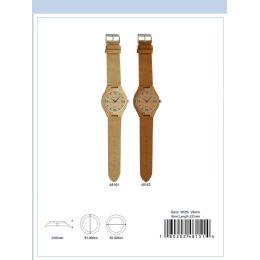 12 of 45mm Wooden Watch - 48161-Asst