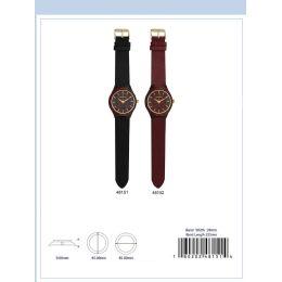 12 of 45mm Wooden Watch - 48151-Asst