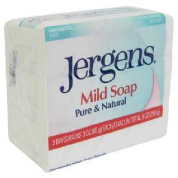 32 of Jergens Mild Bar Soap 3 Pack 3 Oz Each Pureand Natural
