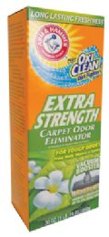 6 of Arm And Hammer Carpet Odor Eliminator 30 Oz Plus Oxi Clean Extra Strength