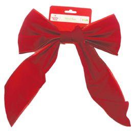 60 of Christmas Red Velvet Bow Prepriced $ 1.28