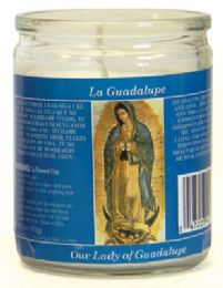 12 of Religious Candle 3.25 Inch Our Lady Of Guadalupe