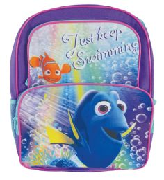 """12 of Disney Backpack 16"""""""" Dory Cargo StylE- Just Keep Swimming"""