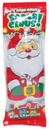 24 of Palmer Classic Milk Chocolate Christmas Santa Claus 4.4 Ounce