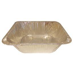 100 of Foil Lasagna Pan Half Size 13 X 10.25 X 4 Inch Extra Deep