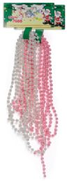 72 of Beaded Christmas Garland 9 Ft Assorted Colors