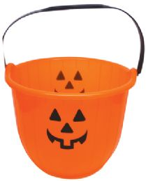 48 of Halloween Bucket 8 X 6 Inch Orange