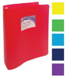 48 of Binder 1 Inch 3 Ring Assorted Colors