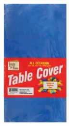 48 of Plastic Table Cover 54 X 108 In Royal Blue