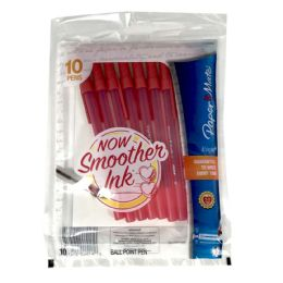 48 of Papermate Medium Red Pens 10ct 1.0mm