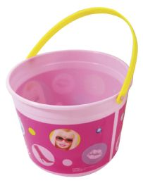 48 of BARBIE BUCKET WITH HANDLE 54 OUNCES PLASTIC
