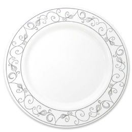12 of Crown Dinnerware Dinner Plate 10 In 10 Pack Platinum Collection