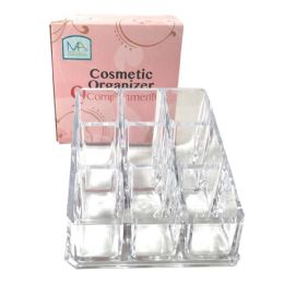 36 of Cosmetic Organizer Square 3.5 X 3.5 Inches 9 Compartments