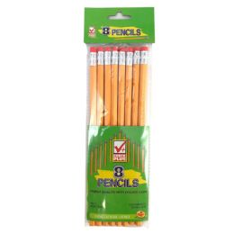 48 of Check Plus No. 2 Pencils 8 Count