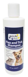 12 of ROYAL PET FLEA AND TICK SHAMPOO 8 OZ MADE IN USA