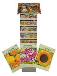 1200 of Valley Greene Flower Seeds Display Assorted Varieties Prepriced $0.59