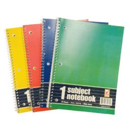 48 of Spiral Notebook 70 Sheet 10.5 X 8 In 1 Subject Wide Ruled