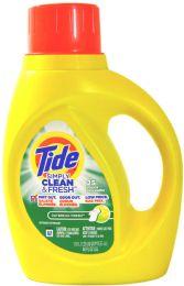 6 of Tide Liq Detergent 50z Simply Daybreak Fresh
