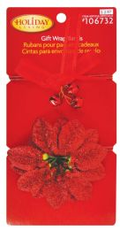 24 of Christmas Gift Wrap Bands 2 Pack Prepriced $ 2.97 In Display
