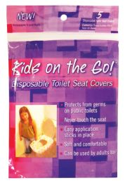 24 of Toilet Seat Cover 5 Pack Disposable