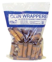 42 of Coin Wrappers 36 Count Nickel
