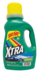8 of Xtra Liquid Laundry Detergent 51 Oz 34 Loads Concentrated Mountain Rain ** 5 Cases Min**
