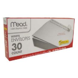 12 of Mead Envelopes 30 Ct #10 SelF-Adhesive