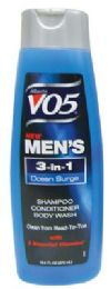 6 of Vo5 Men's 3 In 1 Shampoo/ Conditioner/body Wash 12.5 Oz Ocean Surge