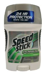 12 of Speed Stick Power Deodorant 1.8 Oz Fresh Scent