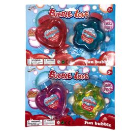 24 of Bubbles Heart And Star Bottle 2 Pk Age 3+