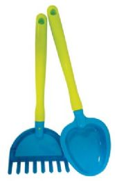 36 of Pride Beach Toy Rake And Shovel 16 In Assorted Designs