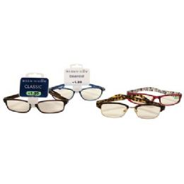 100 of Foster Grant Reading Glasses Assorted Styles And Powers +1.00 To 1.50