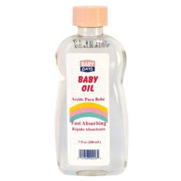 24 of Baby Days Baby Oil 7 oz