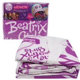 2 of Beatrix GirlS-Bed Sheet SeT-Full Size 4 Pc Set