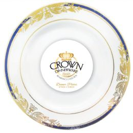 12 of Crown Dinnerware Dinner Plate 10 Inch 8 Pack Renaissance Collection
