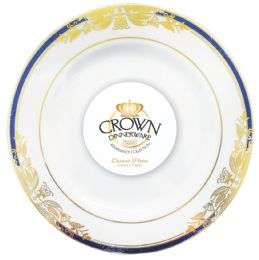 12 of Crown Dinnerware Dessert Plate 7 Inch 8 Pack Renaissance Collection